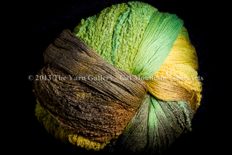 Wild Thyme Knit Swirl! Kit in Bamboo Forest