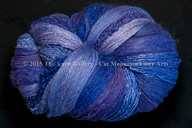 Periwinkle 1000 yard 10 Textures Worsted Weight with Stellina