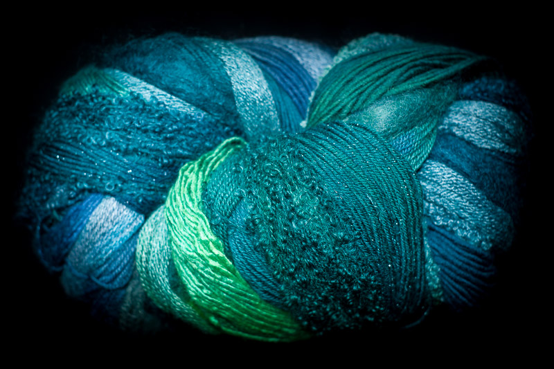 Rainforest 750 yard 10 Textures Worsted Weight with Stellina