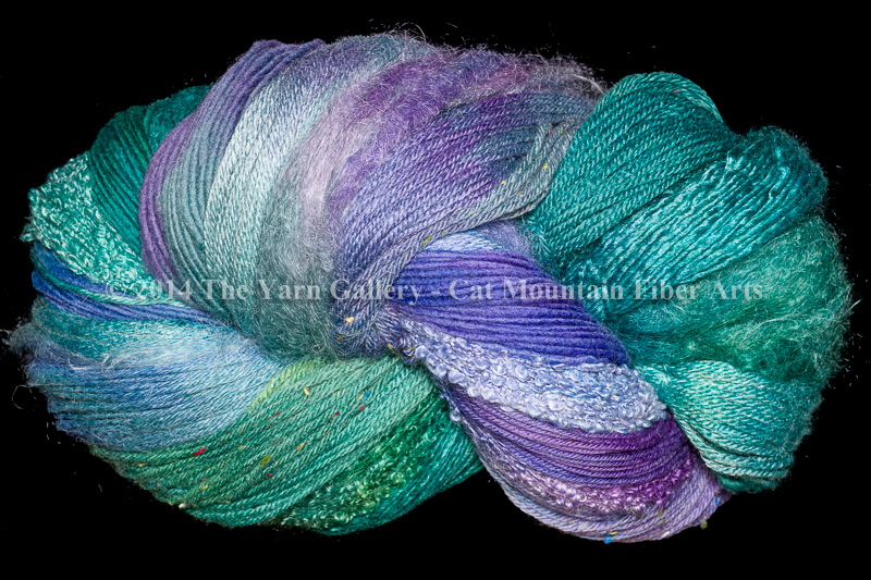 Water Lilies 1000 yard 10 Textures Worsted Weight with Tweed