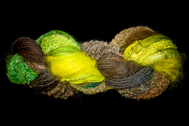 Bamboo Forest 250 yard 5 Textures Worsted Weight with Tweed