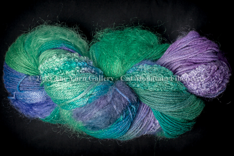 Water Lilies 500 yard 5 Textures Worsted Weight with Stellina