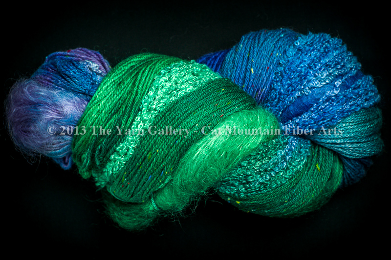 Water Lilies 500 yard 5 Textures Worsted Weight with Tweed