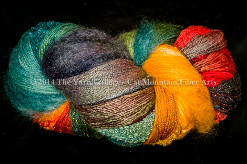 Alpine Autumn 750 yard 10 Textures Worsted Weight with Stellina