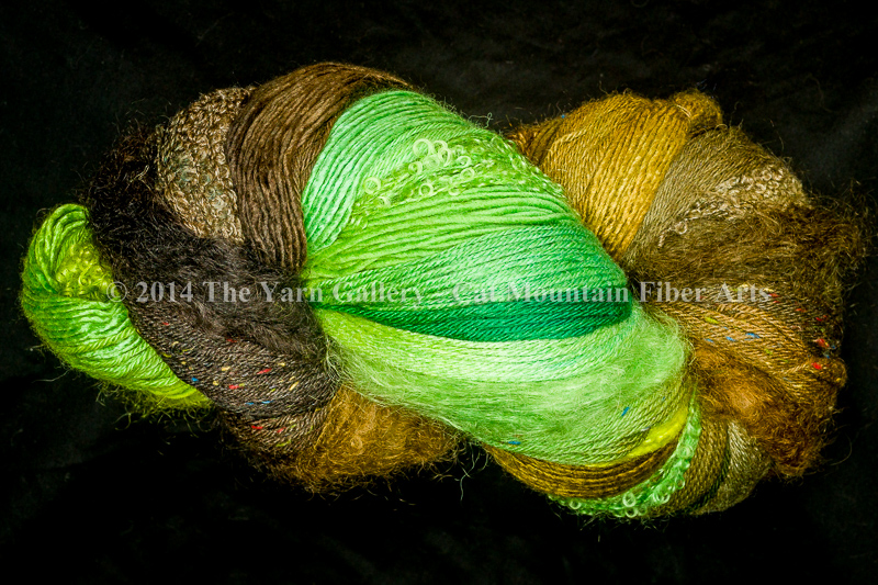 Bamboo Forest 750 yd 10 Textures Worsted Weight with Tweed
