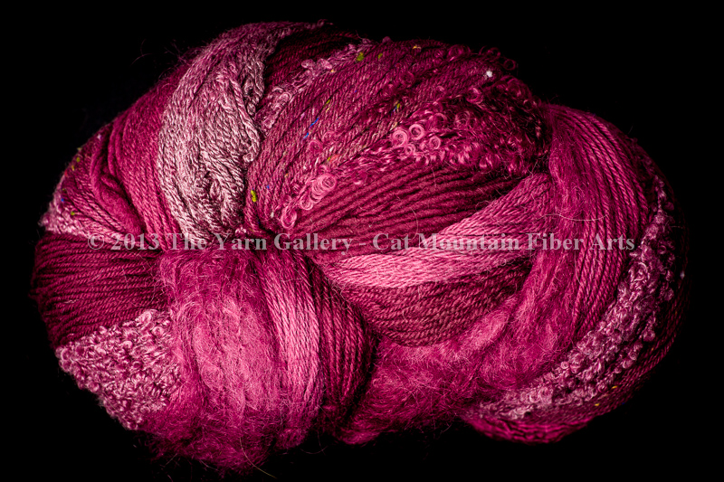 Garnet 500 yard 5 Textures Worsted Weight with Stellina