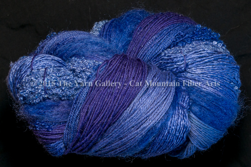 Periwinkle 750 yard 10 Textures Worsted Weight with Stellina