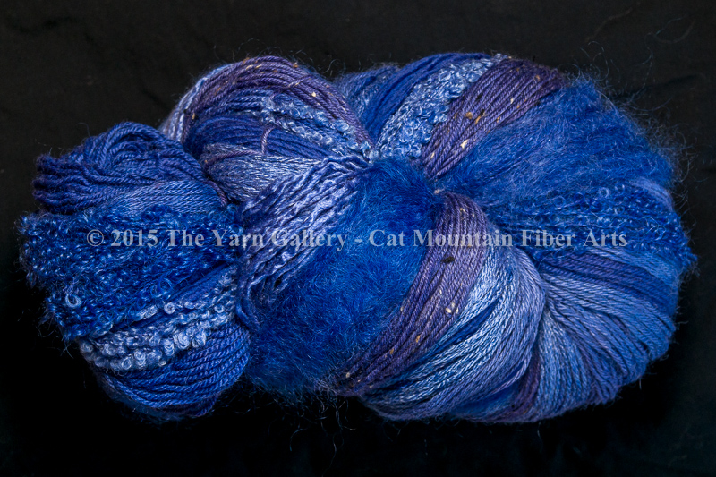 Periwinkle 750 yard 10 Textures Worsted Weight with Tweed