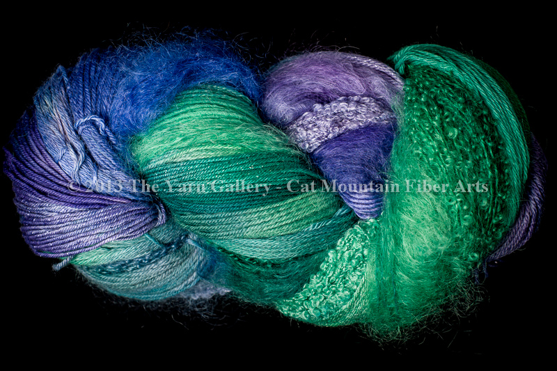 Water Lilies 750 yard 10 Textures Worsted Weight with Stellina